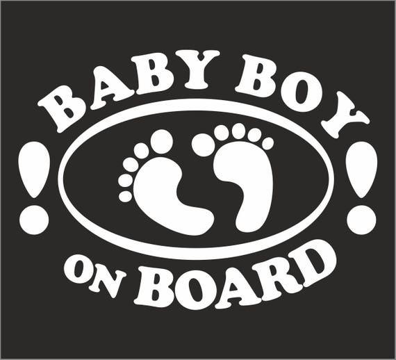 Child On Board Baby Child Window Bumper Car Sign Decal Sticker