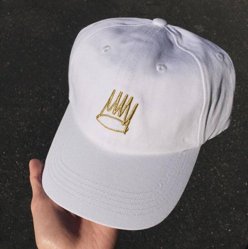 cf4bcbabf46 J Cole Born Sinner Crown Hat Pin