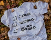 Chosen Blessed & Highly Favored T-Shirt (Unisex)