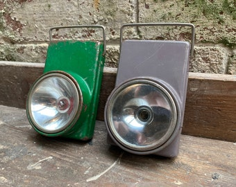 Flash Light   Vintage   Flat Torch   Industrial Light   Made in Bulgaria