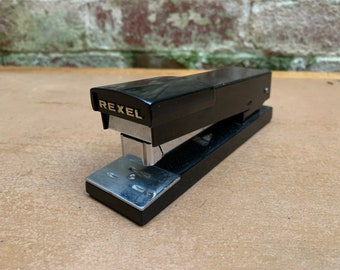 Rexel Saturn Stapler   1970's   Vintage Office Stationery   Staple in Style   Prop