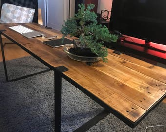 THE SHEPPARD | Custom Reclaimed Wood Coffee Table