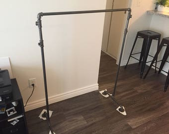 Made-to-Order Steel Clothing Rack