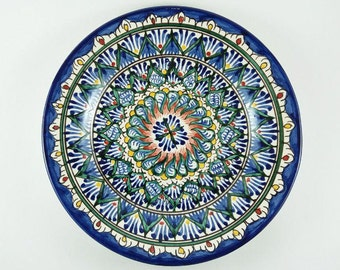 Uzbekistan plates wall hanging Uzbek ceramics buy plates for standsplates wall decor  sc 1 st  Etsy & Decorative plates | Etsy