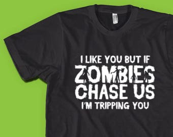 ad8129c42 Zombie Shirt Zombies Chase Us Halloween t-Shirts Zombie Apocalypse Walking  Dead Shirt Living Dead Shirt Zombie Gifts Funny Zombie Shirts