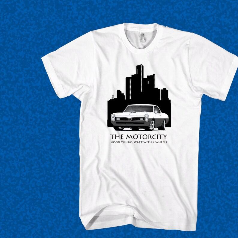 112d0a69 Car Shirts The Motor City Shirt Detroit Car Shirt American | Etsy