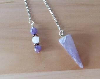Amethyst Crystal Pendulum Quartz