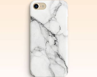 White Marble iPhone Case iPhone SE case iPhone 7 case iPhone 6s Case iPhone 6s Plus Marble Case For Samsung S7 Case For Galaxy S6 for S5 002