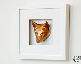 Small Framed Polygon Fox