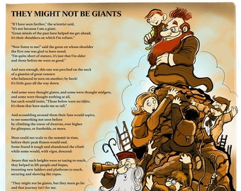 They Might Not Be Giants  poem poster