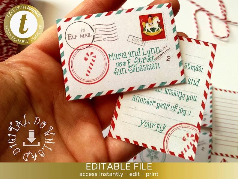photograph about Elf Printable called Printable Elf letters, Elf letters towards young children, Notes against Elf, north pole letter, Printable elf notes, Elf package, little envelopes, Elf short article