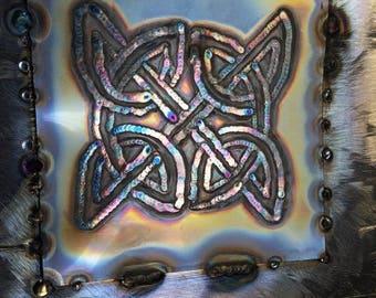 Tig welded celtic knot