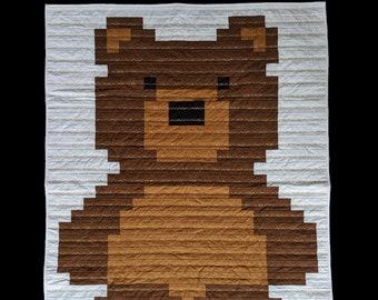 """Quilt """"Teddy Bear"""""""