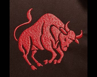 """Embroidery File """"Star Sign Taurus"""""""