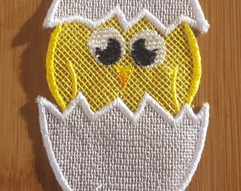 """Embroidery File FSL Easter """"Baby Chicken"""""""