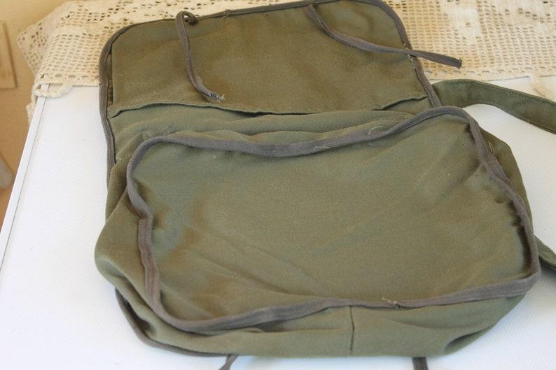 Gift Idea Distressed Bag Red Cross Bag Vintage Medical Bag