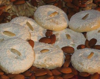 Almond Sugar Cookies, Almond, Sugar Cookie, Cookie, Dessert