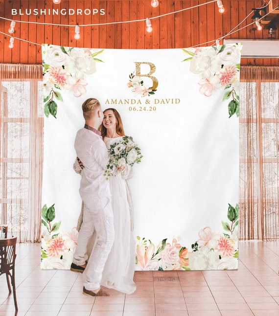 Wedding Photo Booth Backdrop Wedding Backdrop for Reception | Etsy