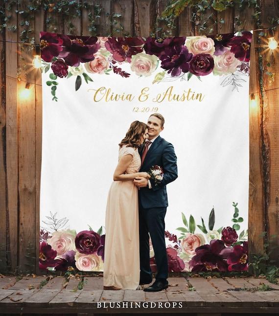 Wedding Photo Backdrop, Boho Wedding Decor, Photo Booth
