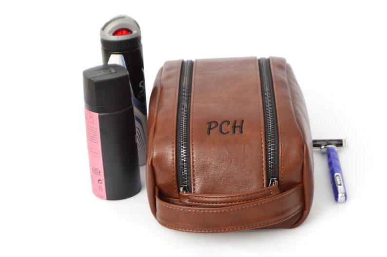 f36622cea2 Wash bag Toiletry bag men Shaving bag men Dopp Kit