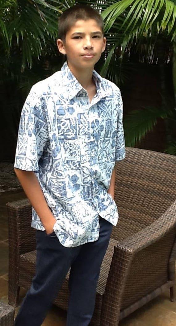 Boys XL Aloha Shirt, Aloha Wear, Hawaiian Shirts,