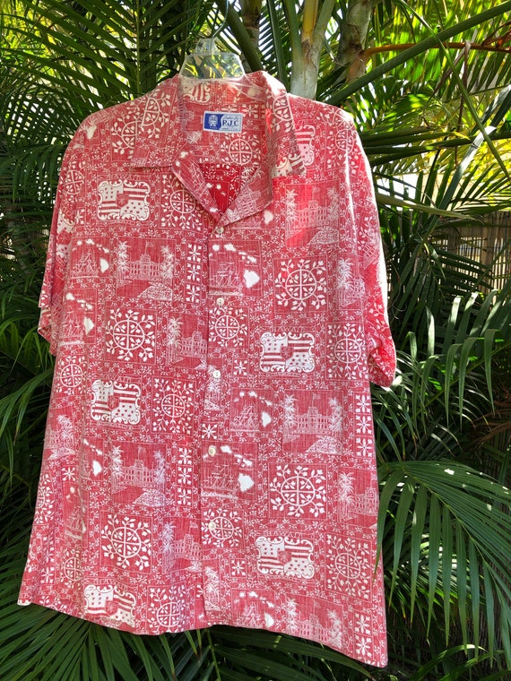 Mens XXL Aloha Shirt, Aloha Wear, Hawaiian Shirts,