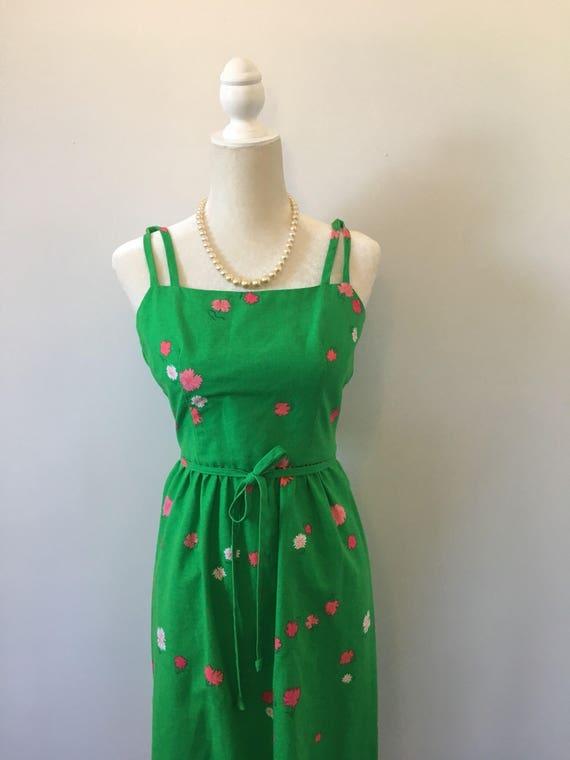 Vintage 1960's Hawaiian Malia dress. - image 8