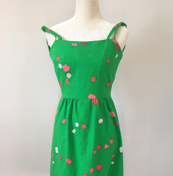 Vintage 1960's Hawaiian Malia dress. - image 7
