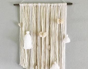 Bohemian Yarn Wall Hanging