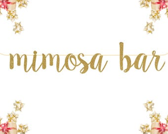 glitter party decorations birthday Celebrate| Gold Silver birthday banner Mimosa Bar Glitter Banner happy birthday photo prop