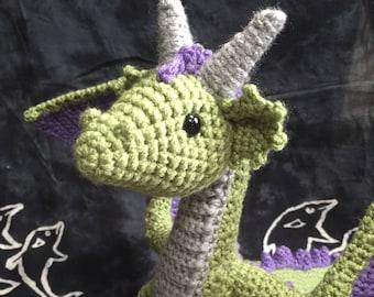 Dragon en crochet