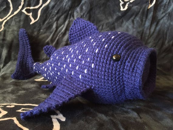 Ravelry: Whale Shark pattern by Chiwaluv Amigurumi Critters | 428x570