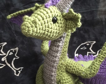 Crocheted Dragon - Made to Order