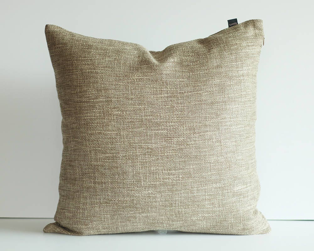 Washed Linen Pillowcase Caramel
