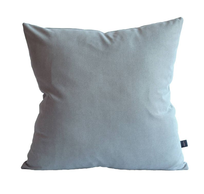 Fine Kdays Faux Suede Light Gray Pillow Cover Decorative For Couch Throw Pillow Case Handmade Cushion Covers Solid Color Faux Suede Pillow Uwap Interior Chair Design Uwaporg