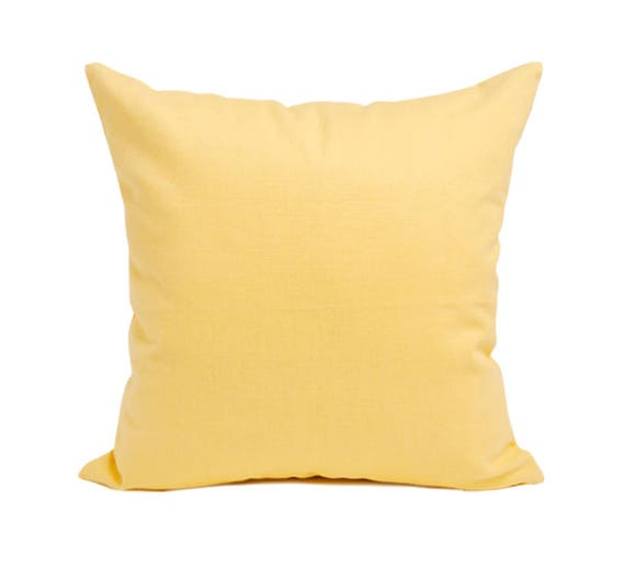 Fantastic Kdays Washed Cotton Canvas Yellow Pillow Cover Decorative For Couch Throw Pillow Case Handmade Cushion Covers Solid Color Cotton Pillows Creativecarmelina Interior Chair Design Creativecarmelinacom