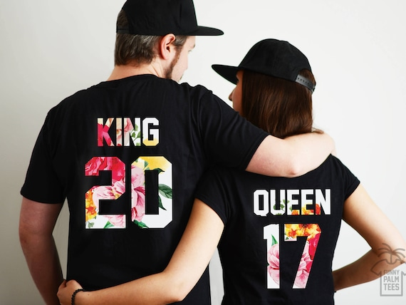 King and Queen shirts couple t shirt couple tees King Queen  ac351fe3feaf