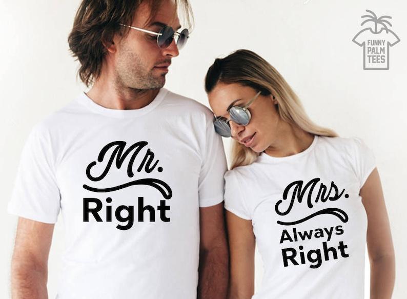 3eb1eadb077f Mr and Mrs shirts just married shirts honeymoon shirts couple | Etsy