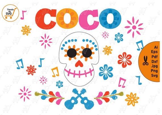 coco svg coco skull svg coco pixar svg coco disney svg etsy