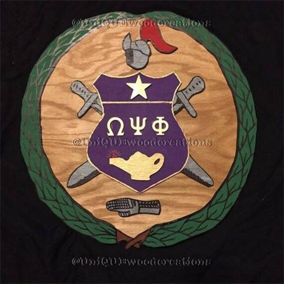 Omega Psi Phi Shield Majestic