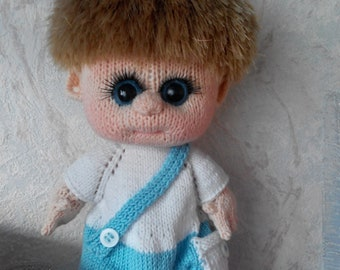 Personalized portrait doll, Made by photo, Handmade custom doll, Made to order, Interior doll, Portrait cloth doll, Customized portrait doll