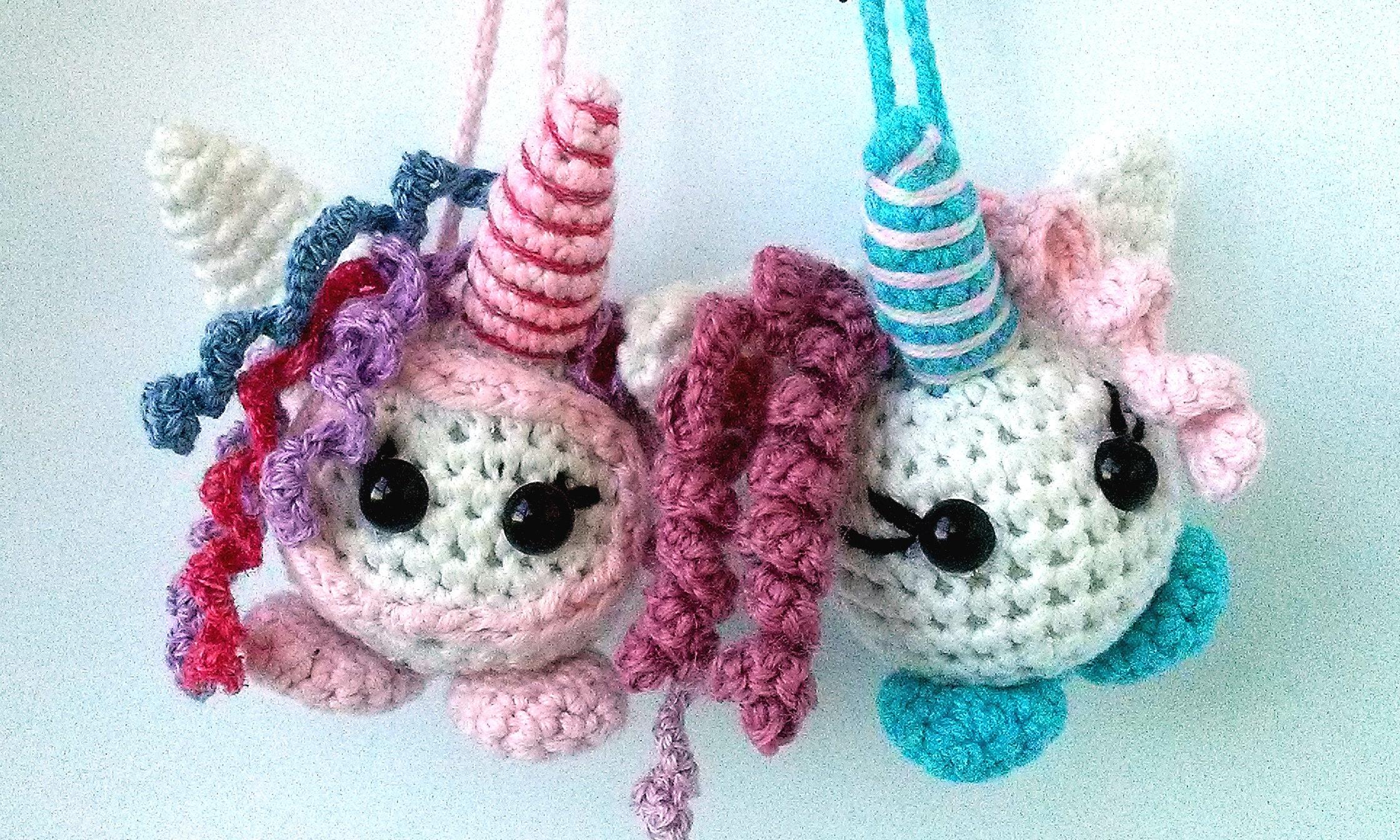 Amigurumi Unicorn Keychain, Crochet On Demand, Amigurumi Unicorn ... | 1344x2240