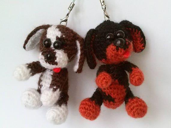 Amigurumi Hundespielzeug Gefüllte Welpen Puppe Häkeln Hund Etsy