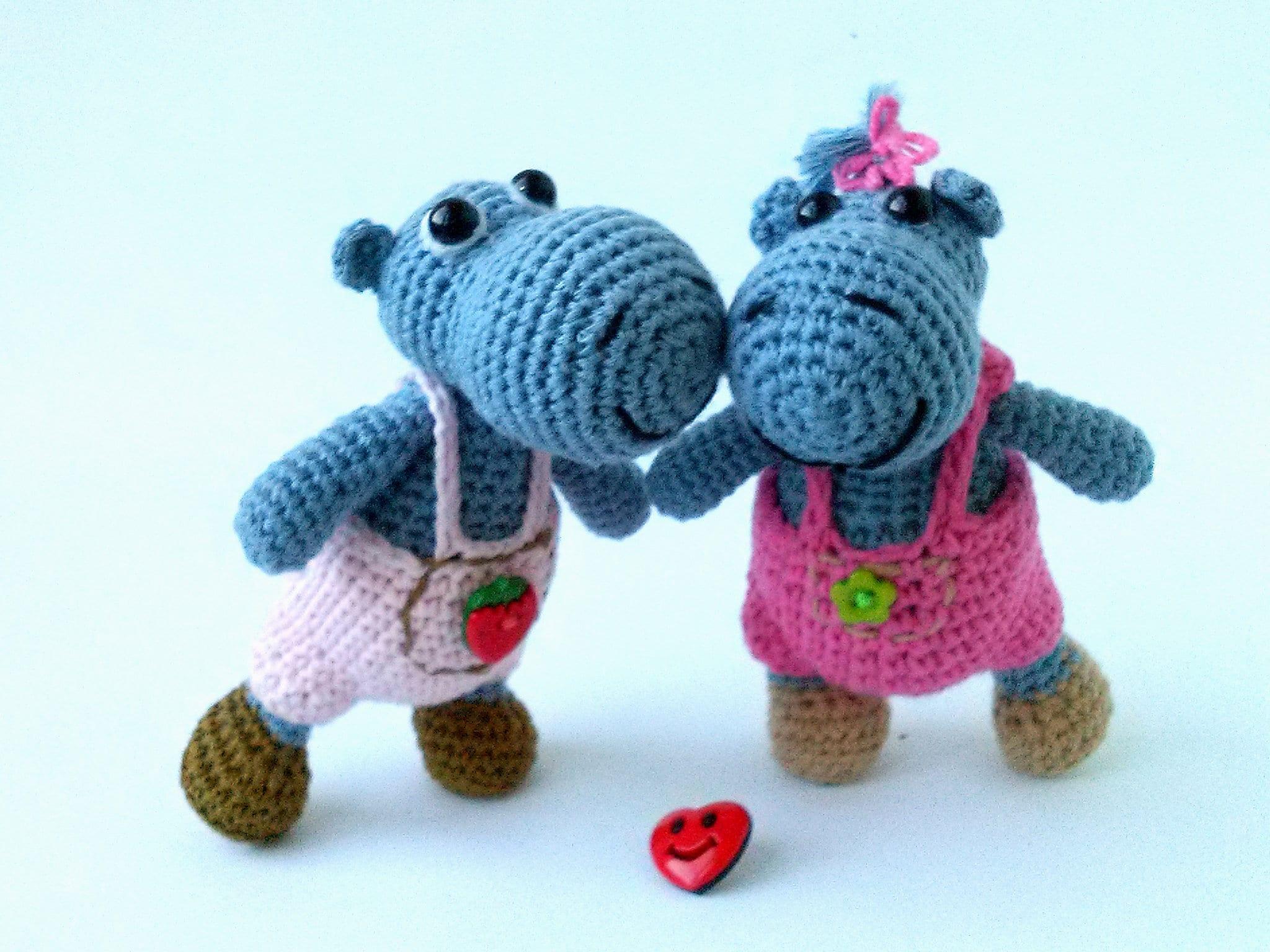 Crochet toy Behemoth crocheted toys