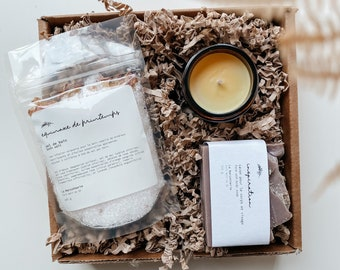 Self-care gift set   welcome home gift, thank you gift, self-care set for her, bath and body gift, room freshener kit, self-care at home