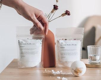 Natural Bath Salts   Handmade Bath Salts - Epson Bath Salts - Gift for her - Christmas Stocking Stuffers - Christmas bath gift gift women