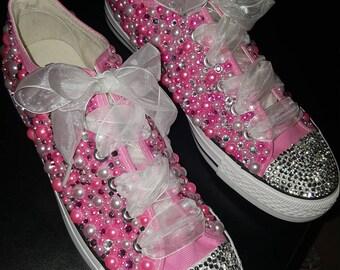 Bling sneakers   Etsy