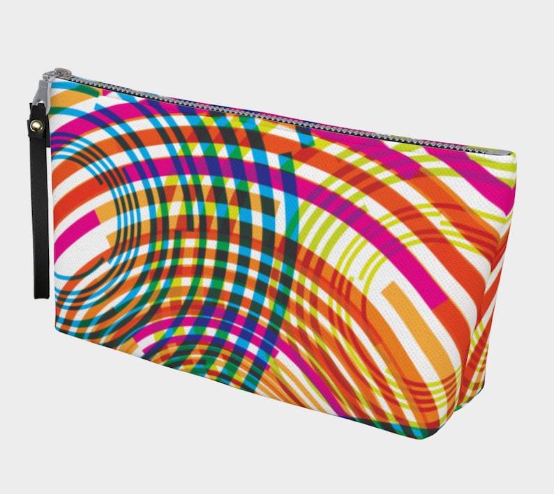 technicolor ripples clutch image 0