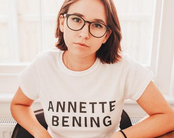 ANNETTE BENING | T-Shirt