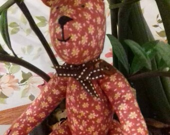 Handmade Cute Tilda Bear Toy for children
